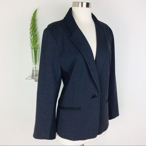Chico's Soft & Stretchable Oversized Blazer Size 3